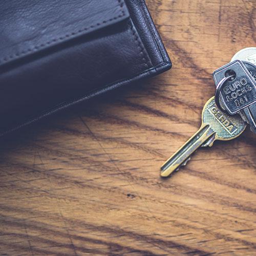 Ключ и портфейл